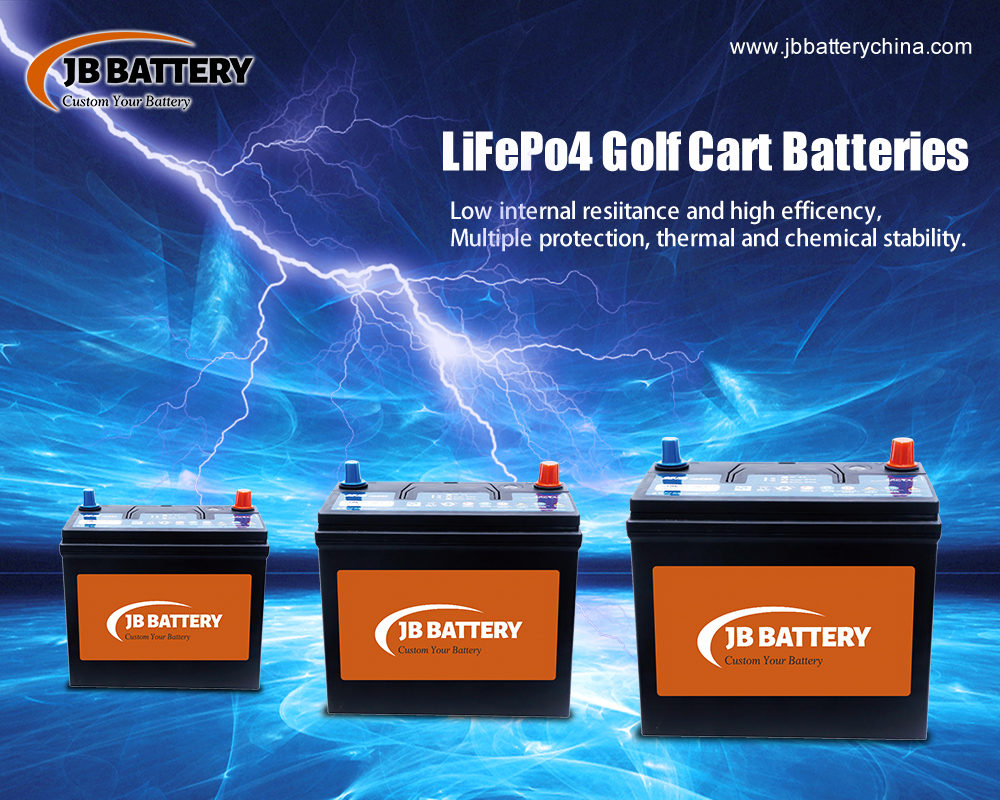 China LifePO4 Golfwagen Batteriepack Hersteller (4)